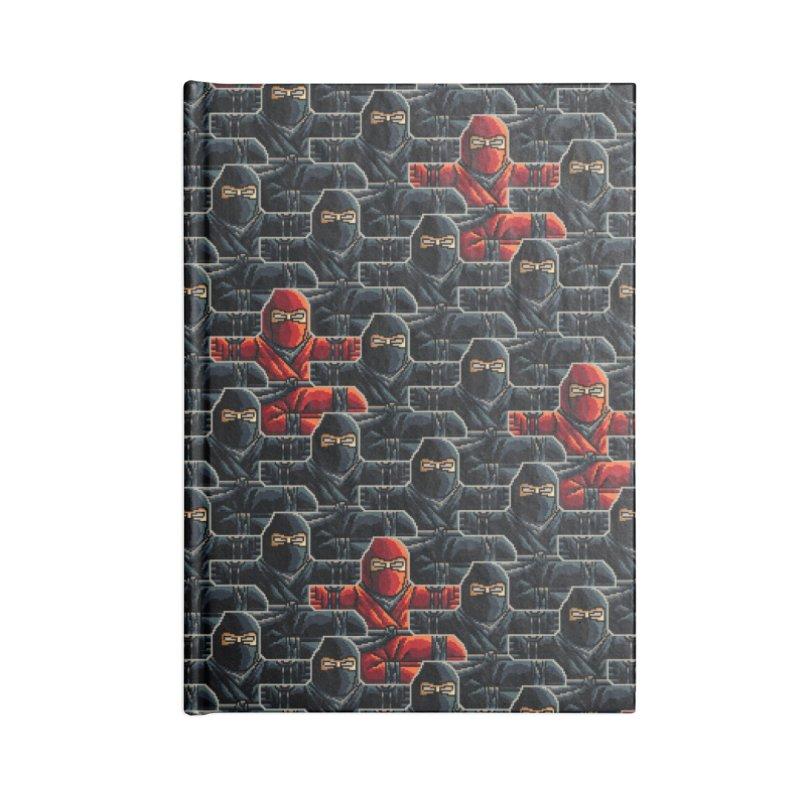 Ninja Kicks Accessories Notebook by ramos's Artist Shop