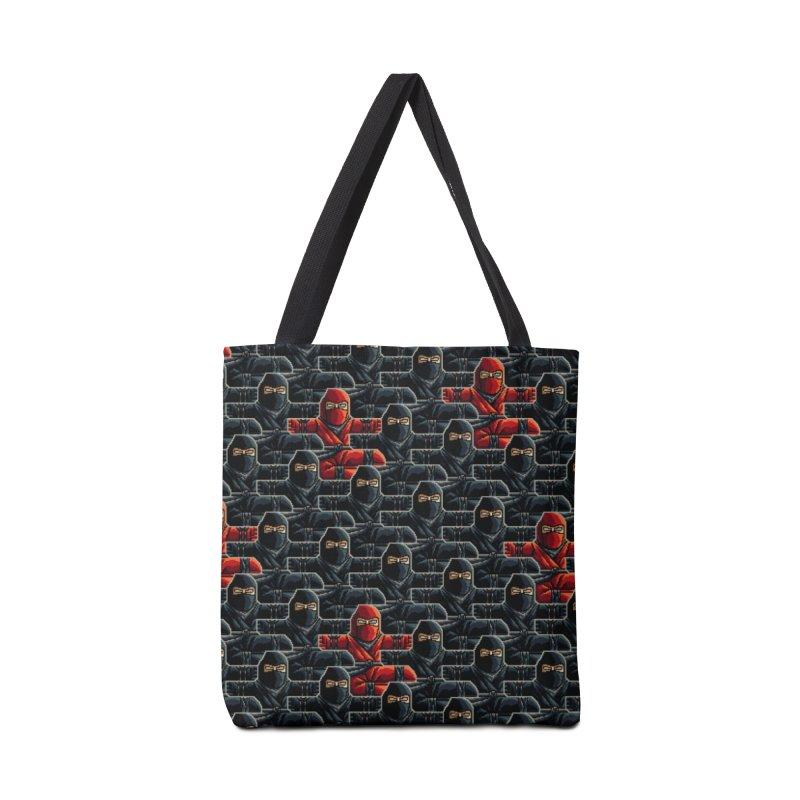 Ninja Kicks Accessories Bag by ramos's Artist Shop