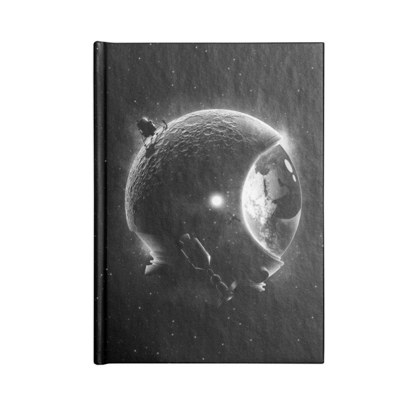 Moon's Helmet Accessories Notebook by ramos's Artist Shop