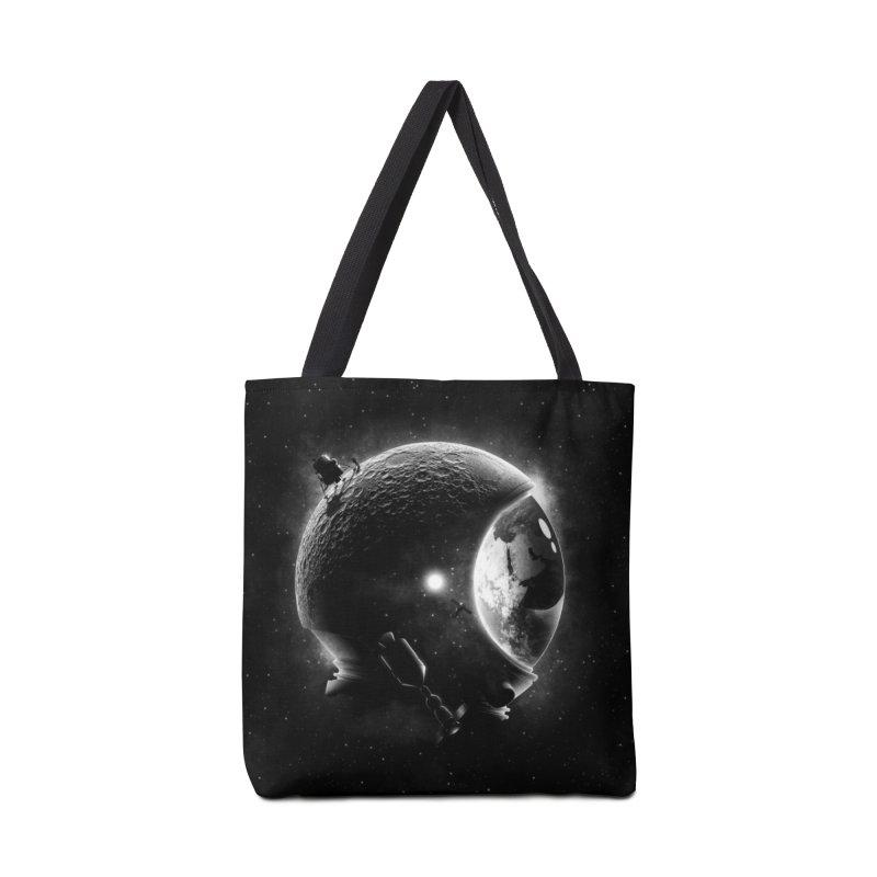 Moon's Helmet Accessories Bag by ramos's Artist Shop