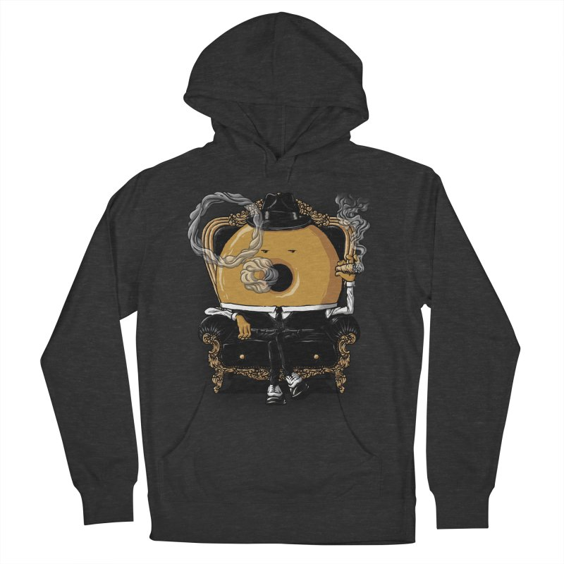 Gangster Donut Women's Pullover Hoody by ramos's Artist Shop