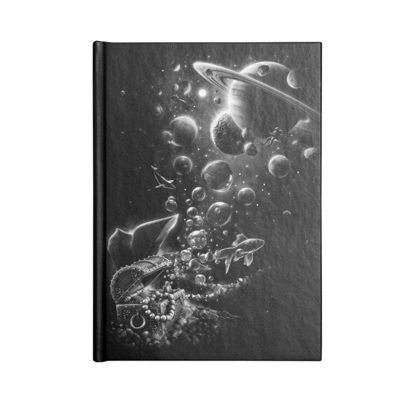 Aquarium Chest Accessories Notebook by ramos's Artist Shop