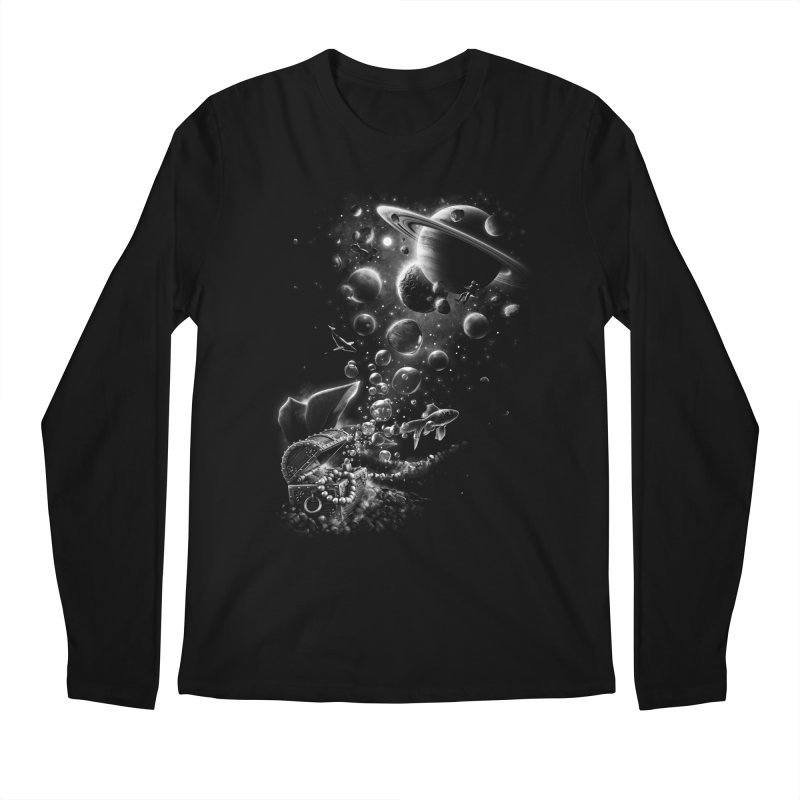 Aquarium Chest Men's Longsleeve T-Shirt by ramos's Artist Shop