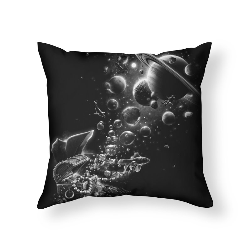 Aquarium Chest Home Throw Pillow by ramos's Artist Shop