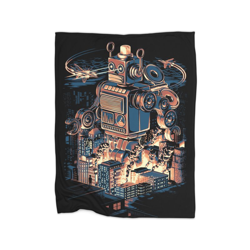Night of the Toy Home Blanket by ramos's Artist Shop