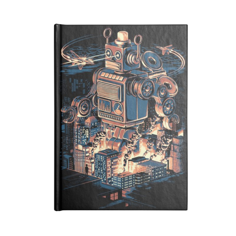 Night of the Toy Accessories Notebook by ramos's Artist Shop