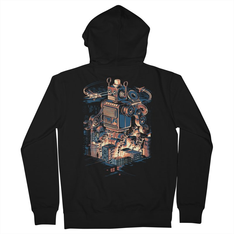 Night of the Toy Men's French Terry Zip-Up Hoody by ramos's Artist Shop