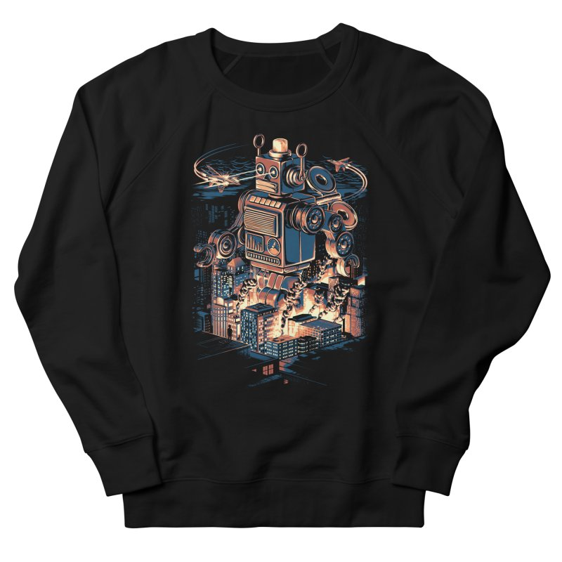 Night of the Toy Women's French Terry Sweatshirt by ramos's Artist Shop