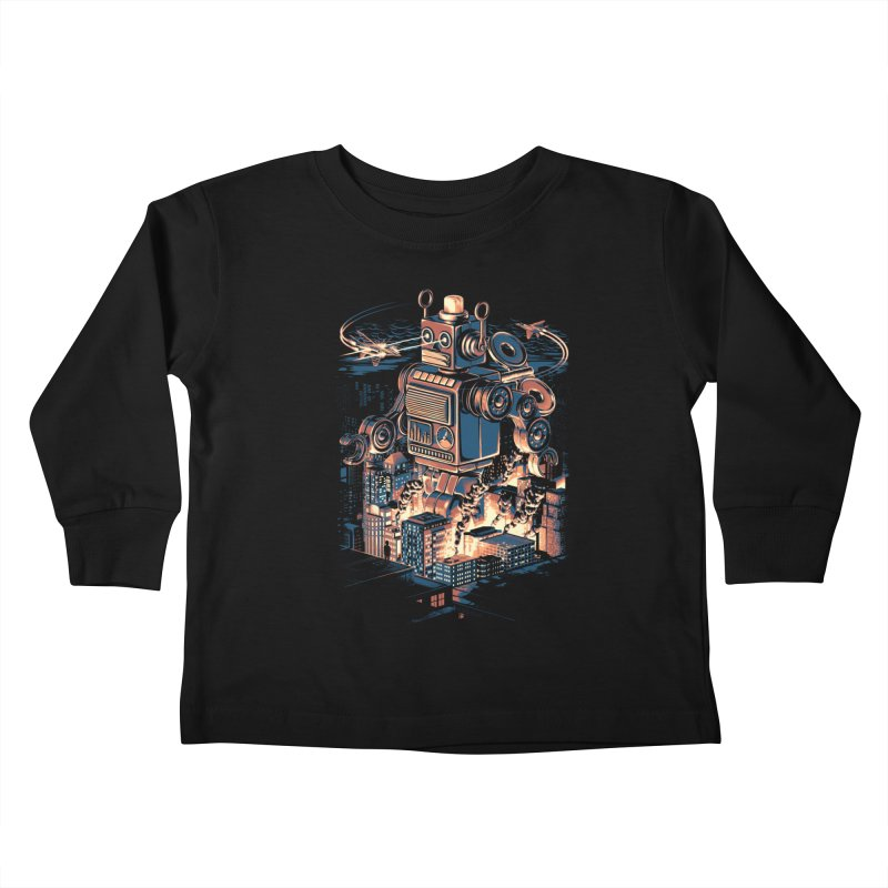 Night of the Toy Kids Toddler Longsleeve T-Shirt by ramos's Artist Shop