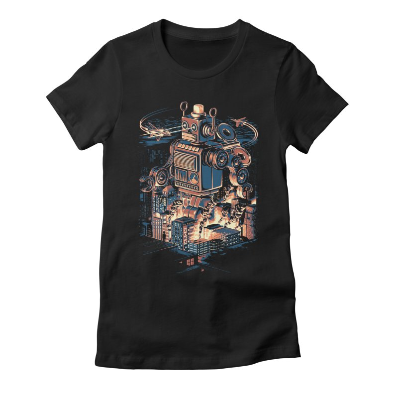 Night of the Toy Women's Fitted T-Shirt by ramos's Artist Shop