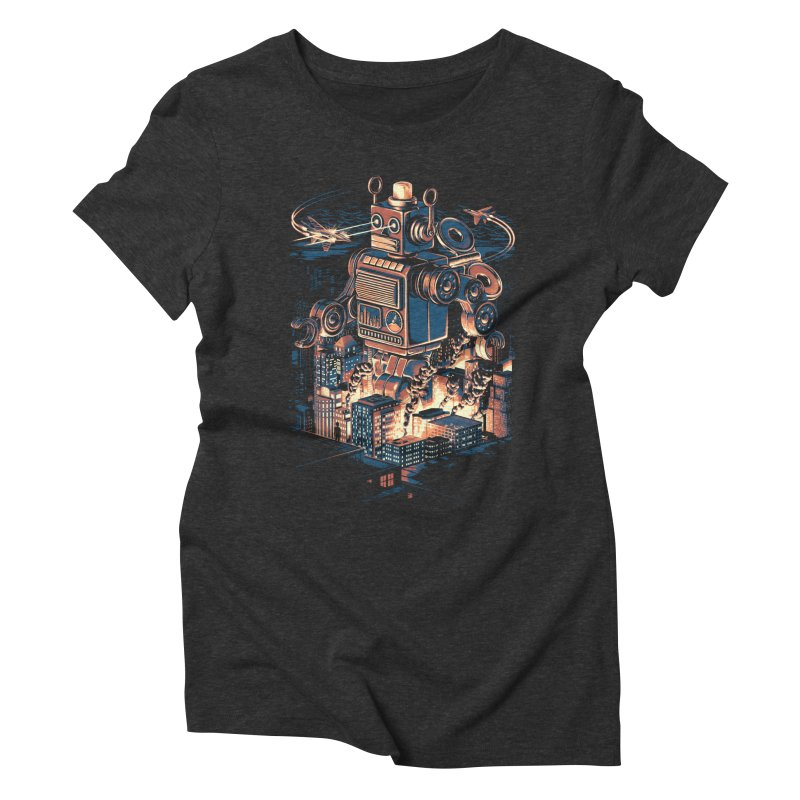 Night of the Toy Women's Triblend T-Shirt by ramos's Artist Shop