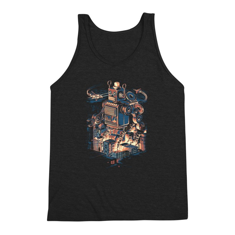 Night of the Toy Men's Triblend Tank by ramos's Artist Shop