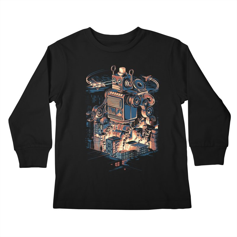Night of the Toy Kids Longsleeve T-Shirt by ramos's Artist Shop