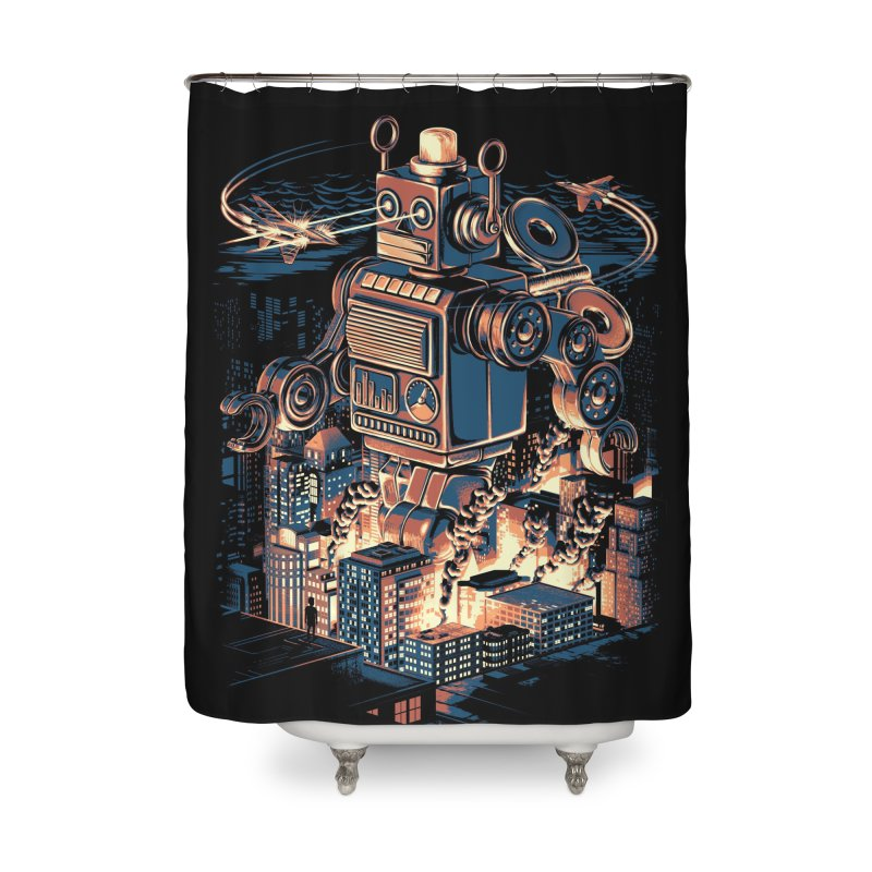 Night of the Toy Home Shower Curtain by ramos's Artist Shop