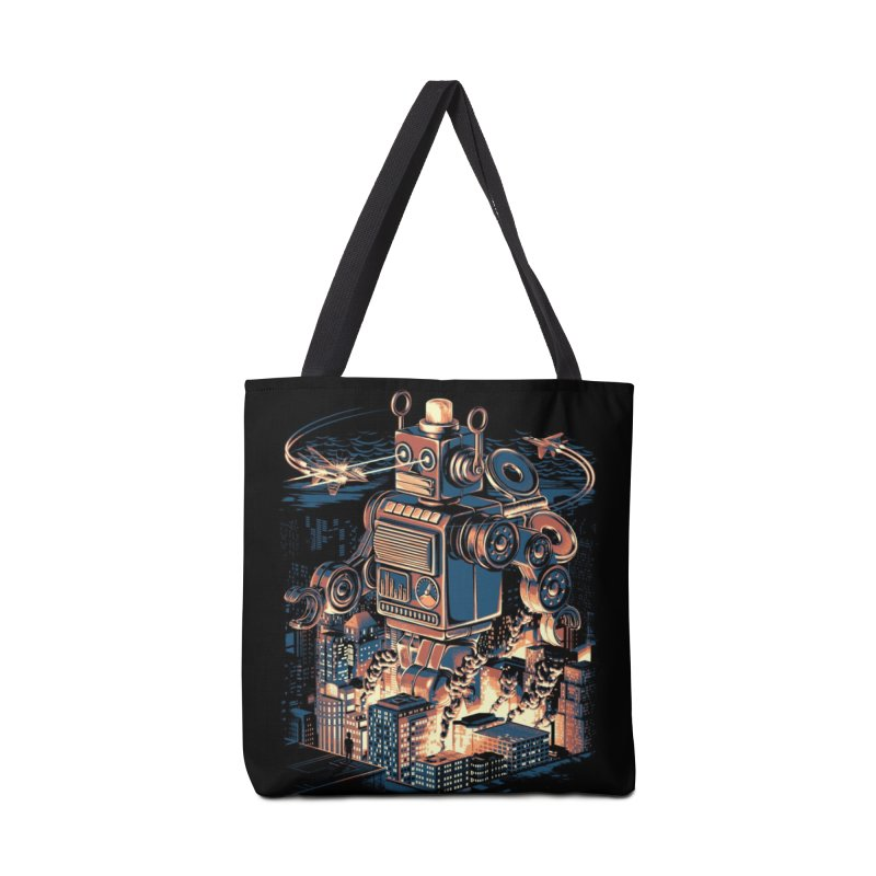 Night of the Toy Accessories Bag by ramos's Artist Shop