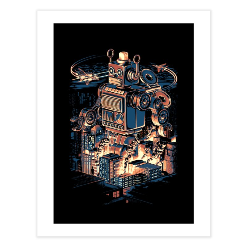 Night of the Toy Home Fine Art Print by ramos's Artist Shop