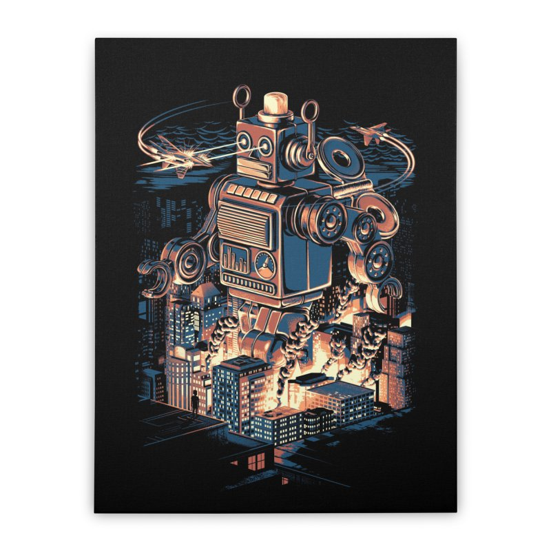 Night of the Toy Home Stretched Canvas by ramos's Artist Shop
