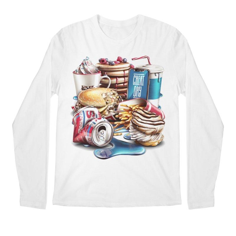 Cheat Day Men's Regular Longsleeve T-Shirt by ramos's Artist Shop
