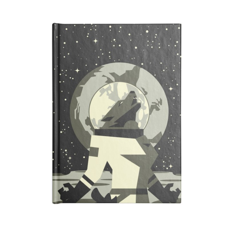 Werewolf in the Moon Accessories Notebook by ramos's Artist Shop
