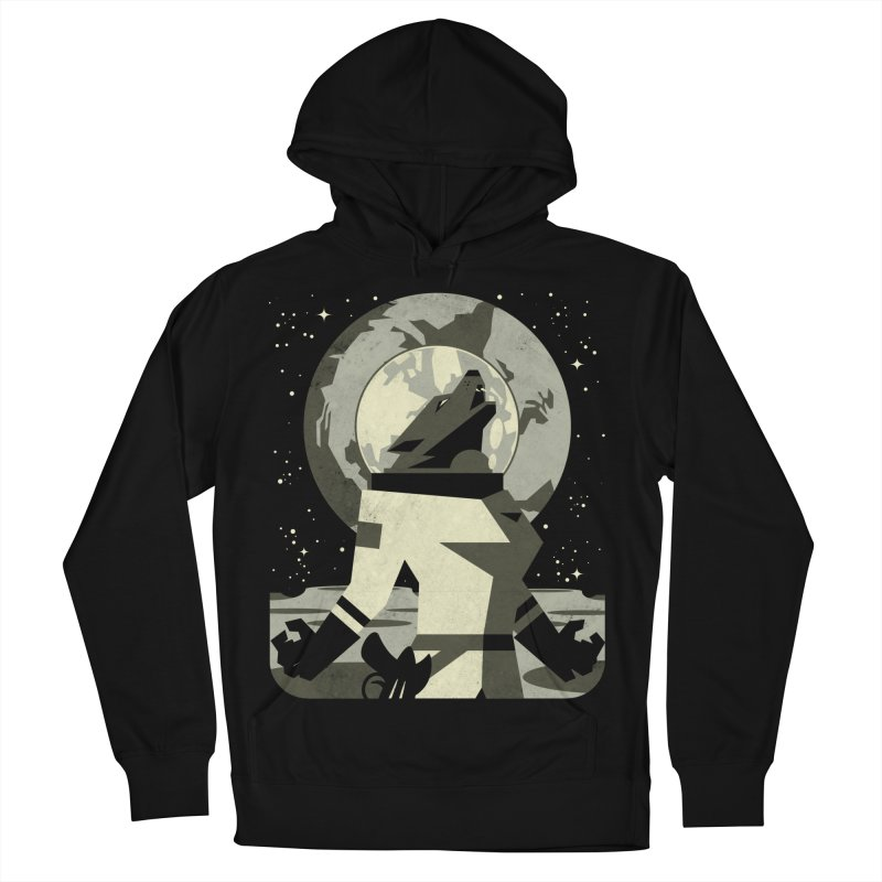 Werewolf in the Moon Men's Pullover Hoody by ramos's Artist Shop