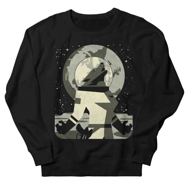 Werewolf in the Moon Men's Sweatshirt by ramos's Artist Shop