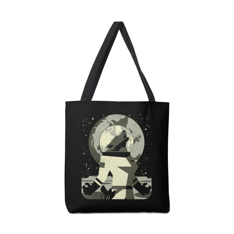 Werewolf in the Moon Accessories Bag by ramos's Artist Shop