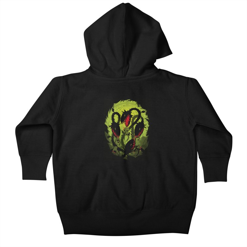 Panic in the Botanic Garden Kids Baby Zip-Up Hoody by ramos's Artist Shop