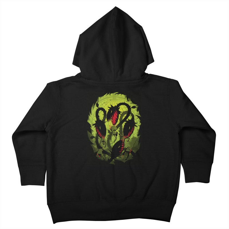 Panic in the Botanic Garden Kids Toddler Zip-Up Hoody by ramos's Artist Shop