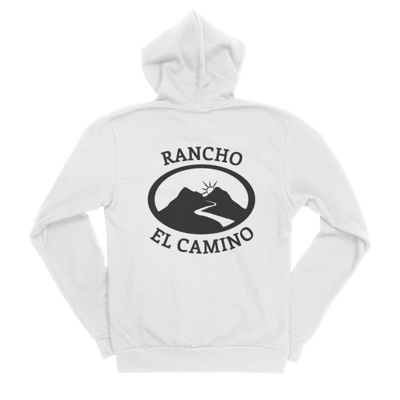 The Ranch Men's Zip-Up Hoody by Rancho El Camino's Artist Shop