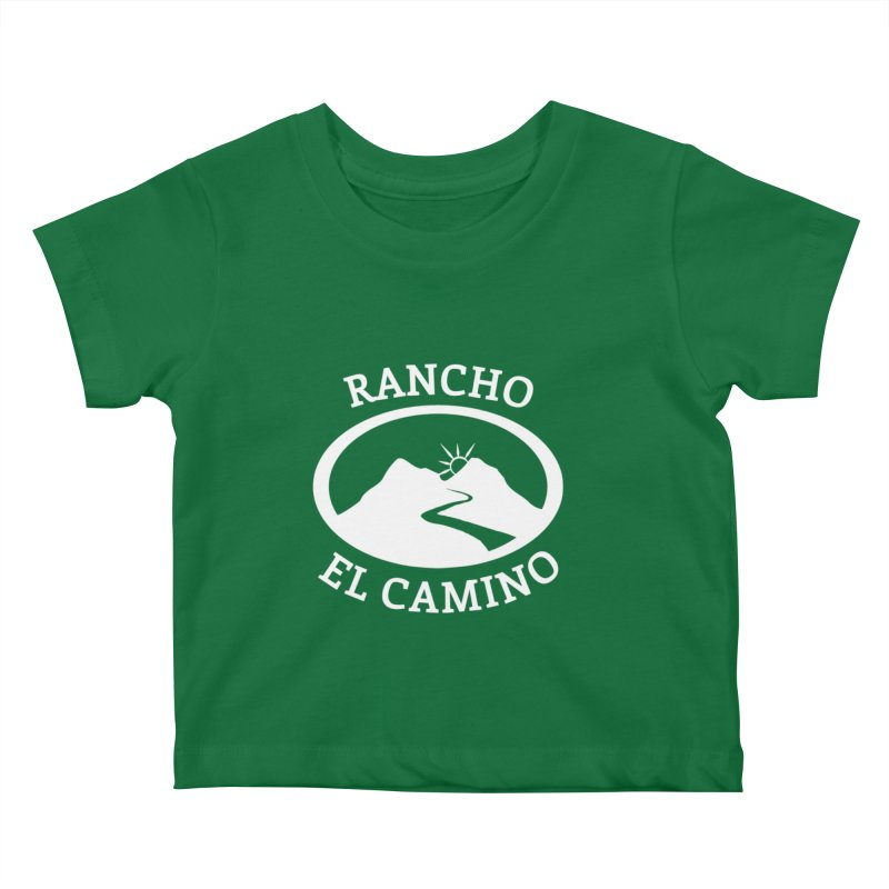The Ranch - WHITE Kids Baby T-Shirt by Rancho El Camino's Artist Shop