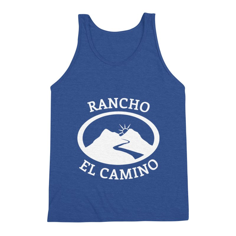 The Ranch - WHITE Men's Tank by Rancho El Camino's Artist Shop