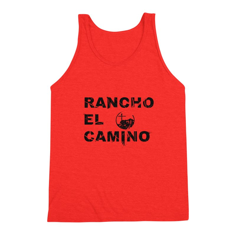Rancho El Camino by John Arters Men's Tank by Rancho El Camino's Artist Shop
