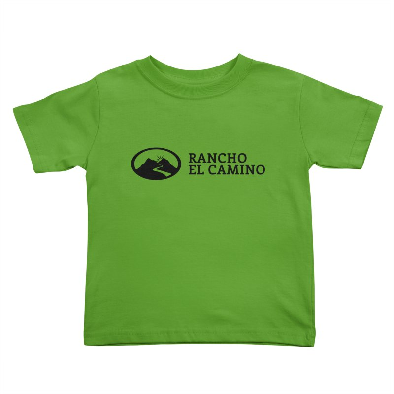 The Ranch Stacked Kids Toddler T-Shirt by Rancho El Camino's Artist Shop