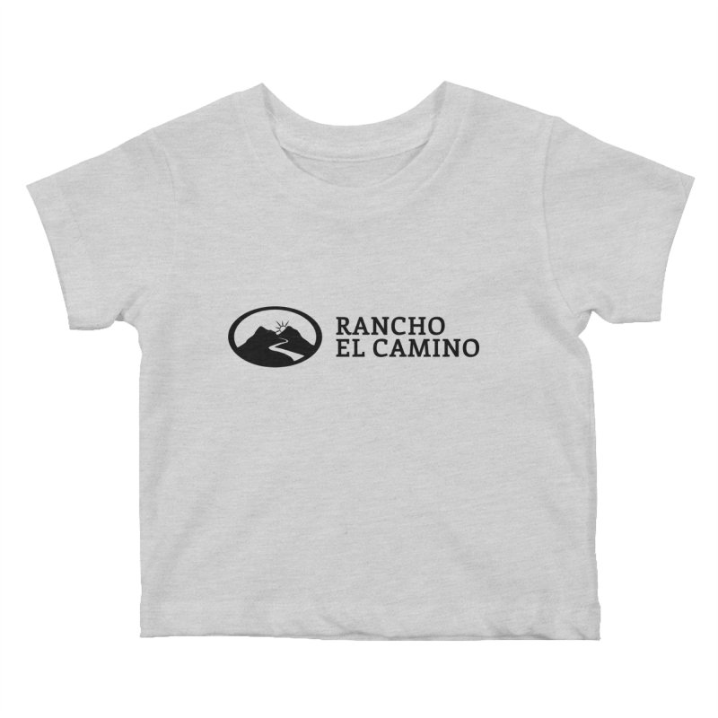 The Ranch Stacked Kids Baby T-Shirt by Rancho El Camino's Artist Shop