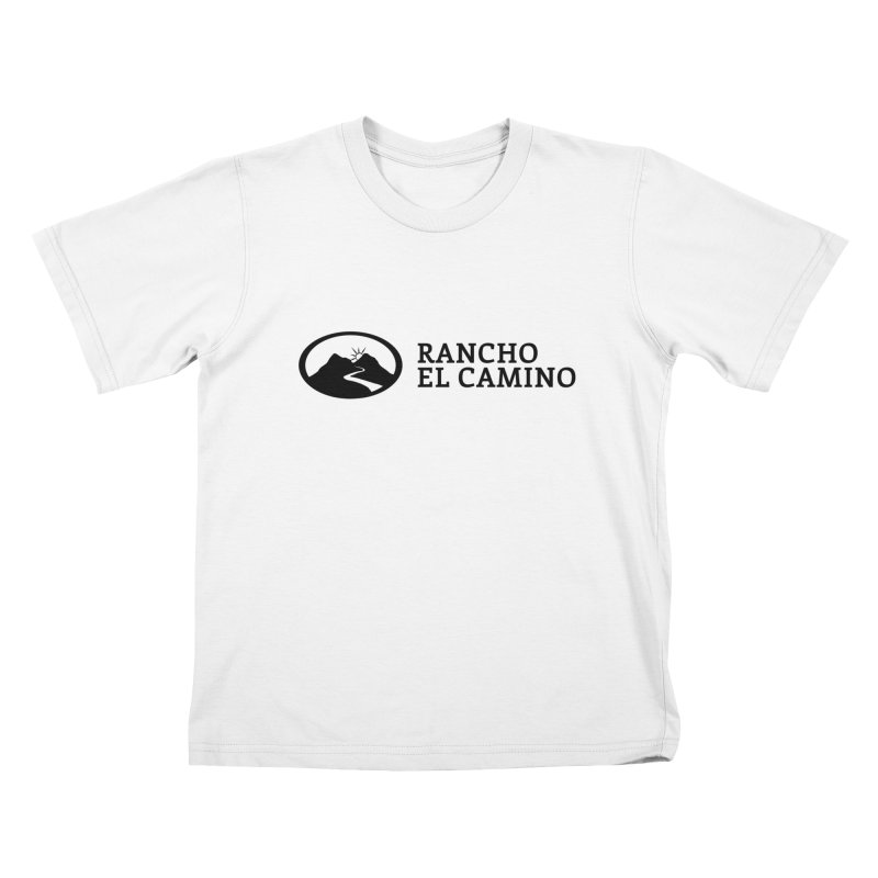 The Ranch Stacked Kids T-Shirt by Rancho El Camino's Artist Shop