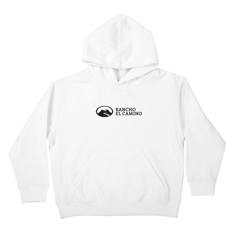 The Ranch Stacked Kids Pullover Hoody by Rancho El Camino's Artist Shop