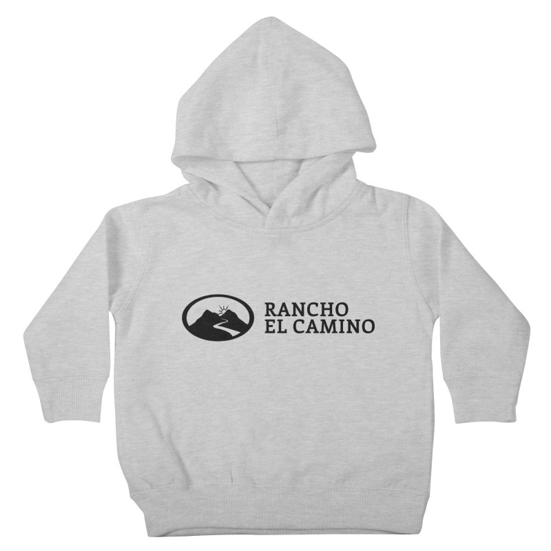 The Ranch Stacked Kids Toddler Pullover Hoody by Rancho El Camino's Artist Shop