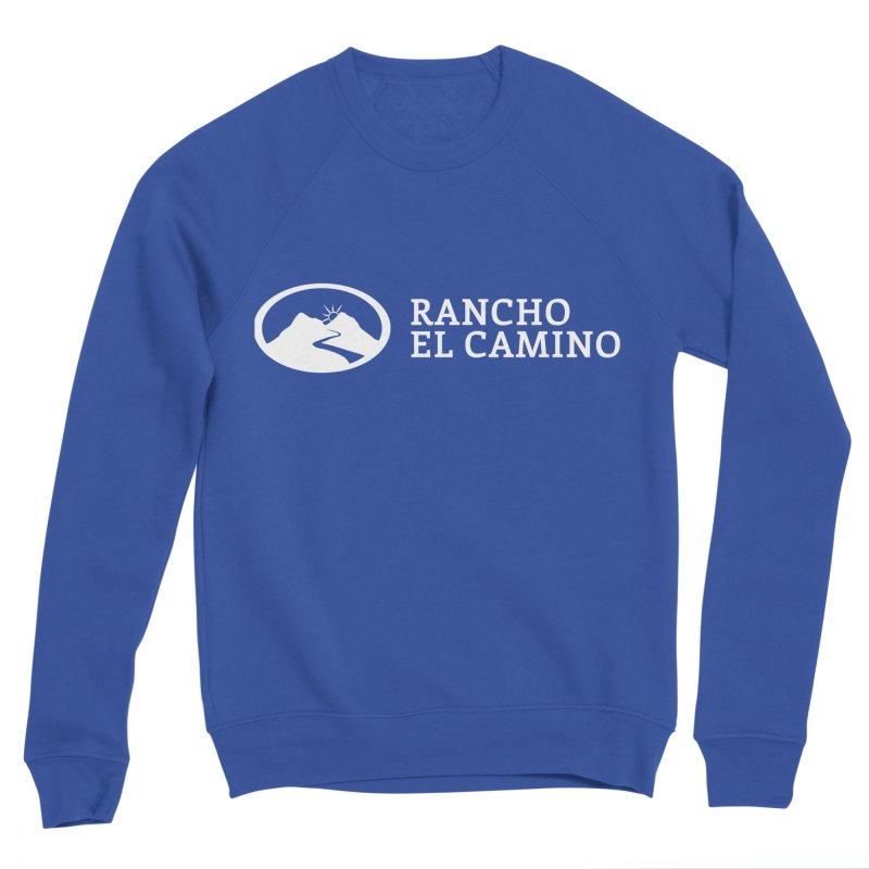 The Ranch Stacked - WHITE Women's Sweatshirt by Rancho El Camino's Artist Shop