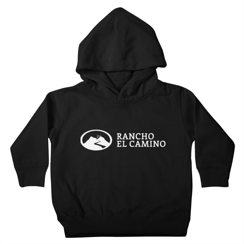 The Ranch Stacked - WHITE Kids Toddler Pullover Hoody by Rancho El Camino's Artist Shop