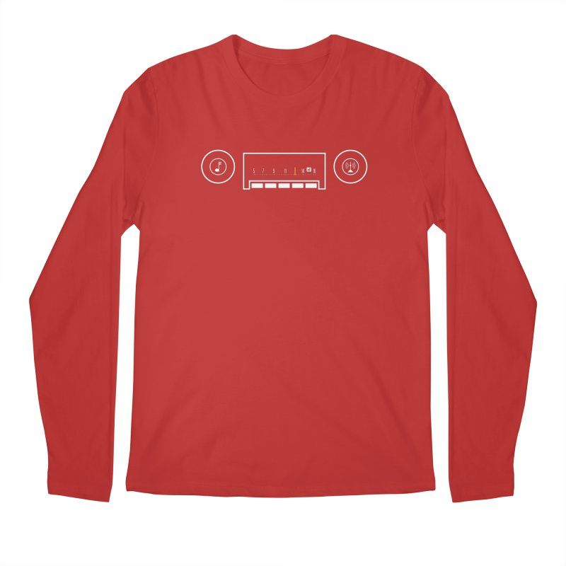 Easy Listening Men's Regular Longsleeve T-Shirt by Random Drive Apparel