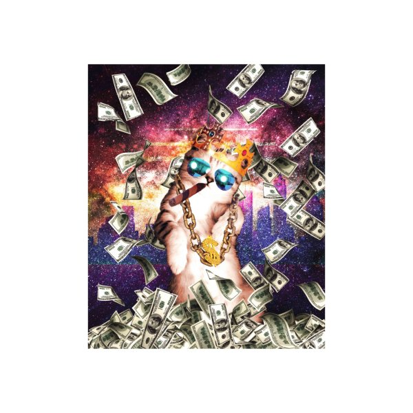 Design for Bling Money Cat Thug