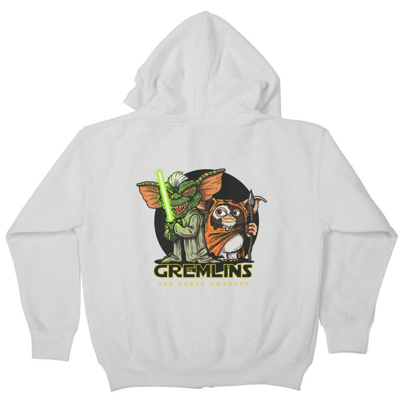 Yoda, I'm not. Kids Zip-Up Hoody by Random Shirt Store