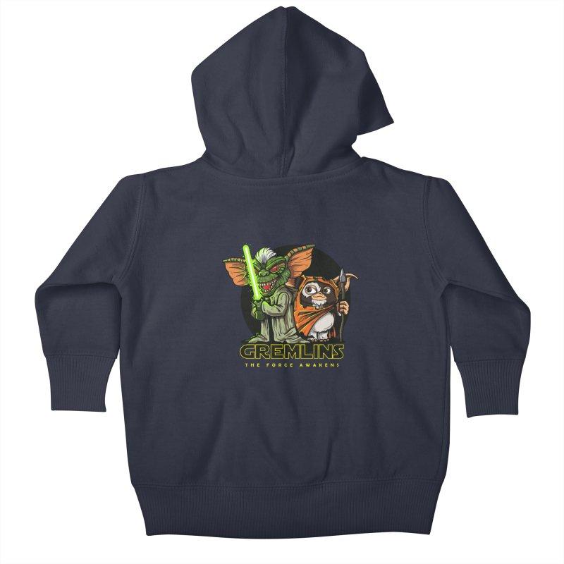 Yoda, I'm not. Kids Baby Zip-Up Hoody by Random Shirt Store