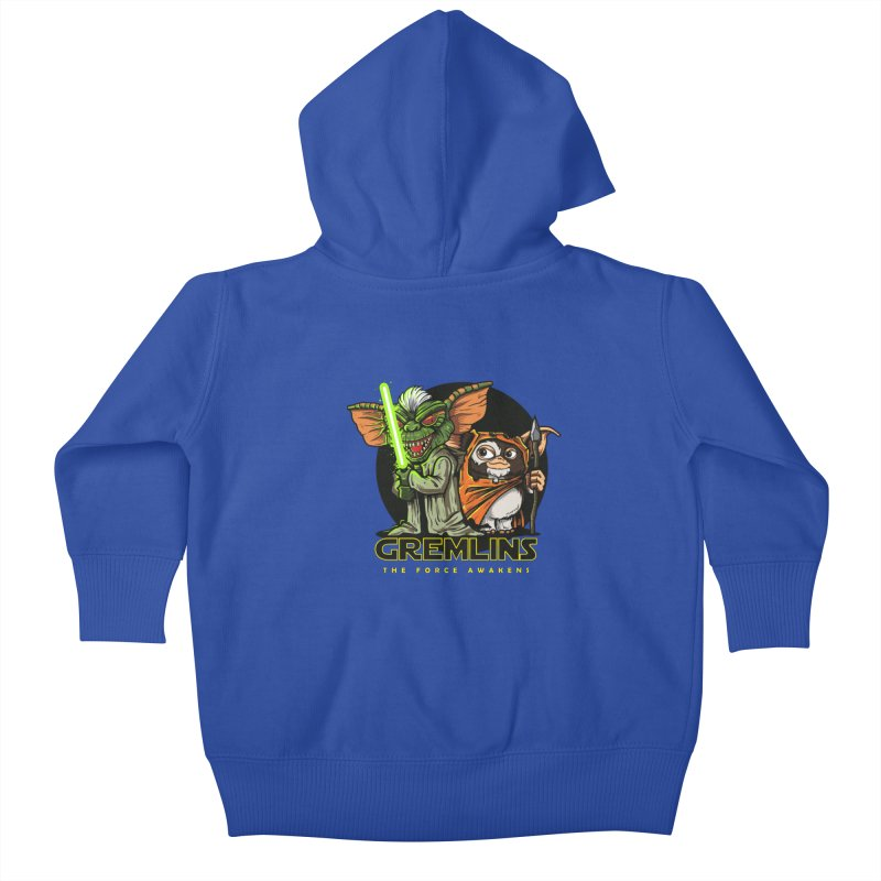 Yoda, I'm not. Kids Baby Zip-Up Hoody by Random Shirt Store