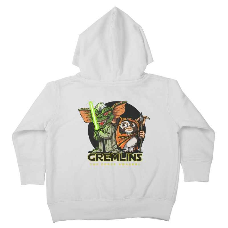 Yoda, I'm not. Kids Toddler Zip-Up Hoody by Random Shirt Store
