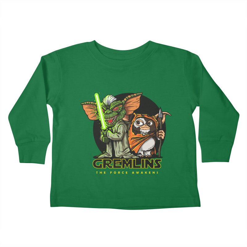 Yoda, I'm not. Kids Toddler Longsleeve T-Shirt by Random Shirt Store