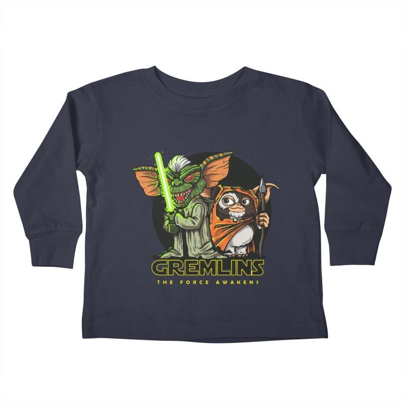 Yoda, I'm not. Kids Toddler Longsleeve T-Shirt by Random Shirt Store