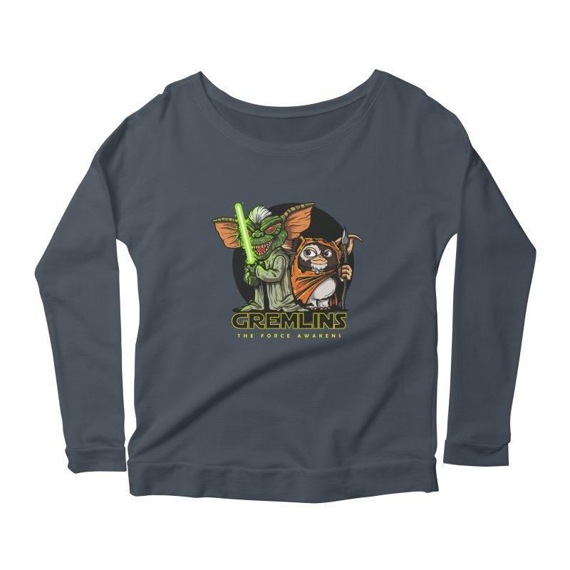 Yoda, I'm not. Women's Longsleeve Scoopneck  by Random Shirt Store