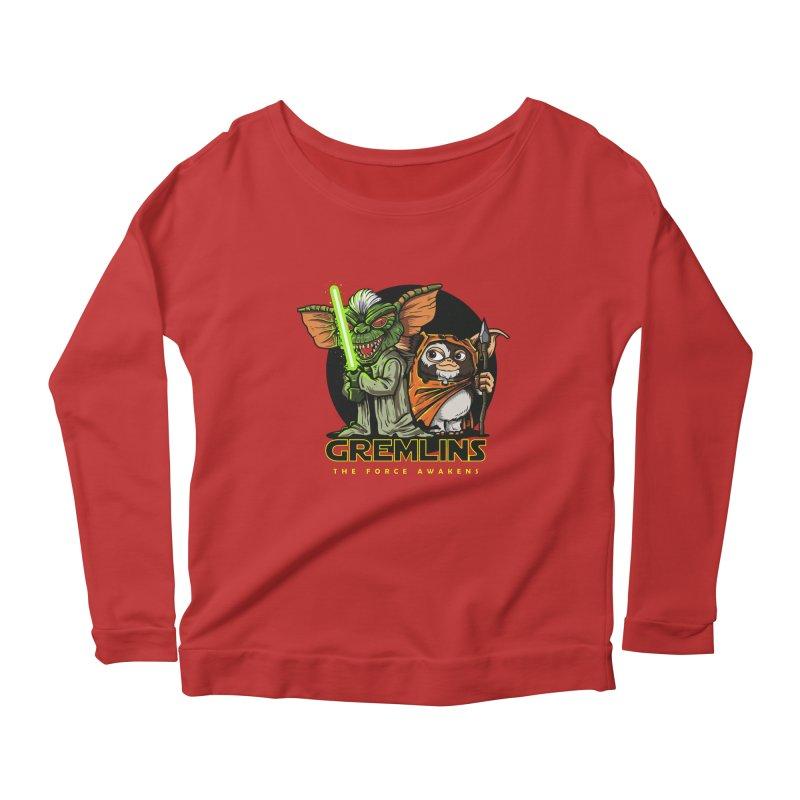 Yoda, I'm not. Women's Longsleeve Scoopneck  by Random Shirt Store