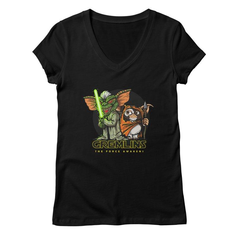 Yoda, I'm not. Women's V-Neck by Random Shirt Store